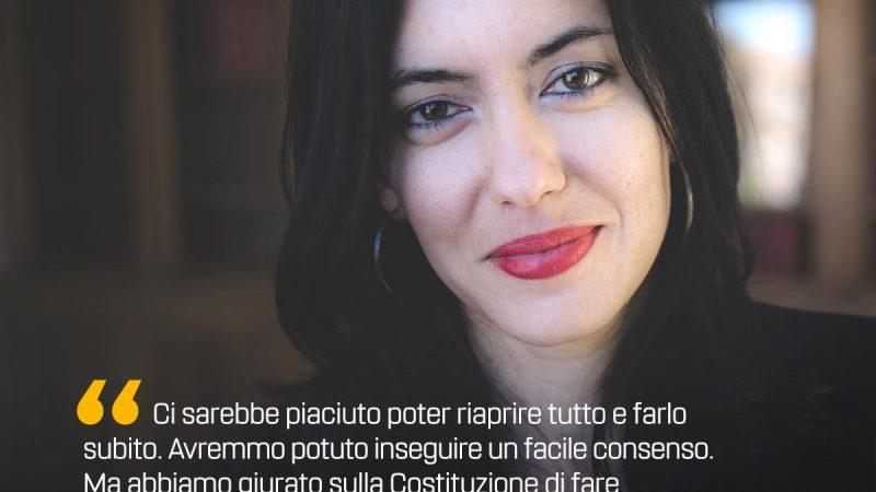 Lucia Azzolina risponde agli attacchi