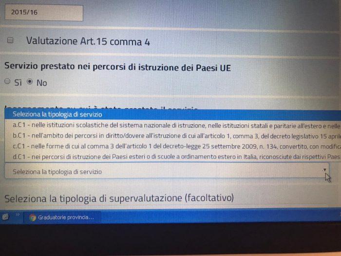 Assistenza per la compilazione della domanda GPS sul sito del Ministero