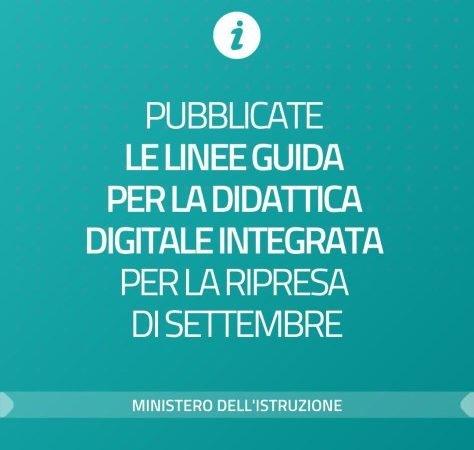 Linee guida per la Didattica digitale integrata