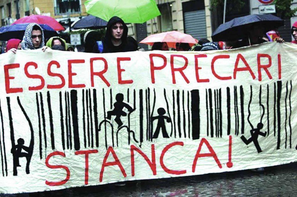 I precari protestano in tutta Italia