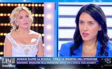 Azzolina dalla Durso: La domenica a scuola non è una strada percorribile