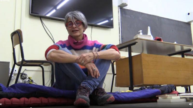 La prof che occupa il liceo, storia di Gloria Ghetti