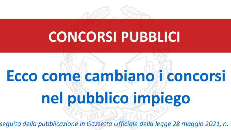 La riforma dei concorsi pubblici è legge: le SLIDES con le novità.